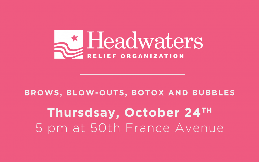 Join Us for Brows, Blow-Outs, Botox and Bubbles on October 24th